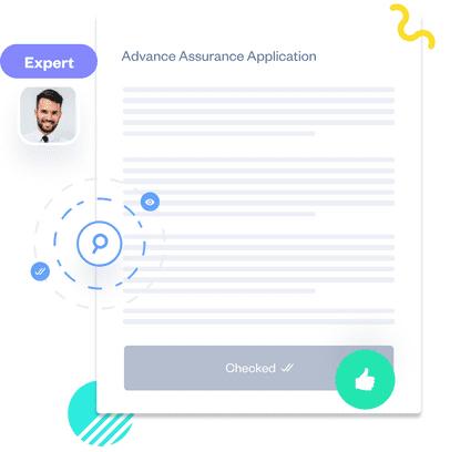 advance assurance application